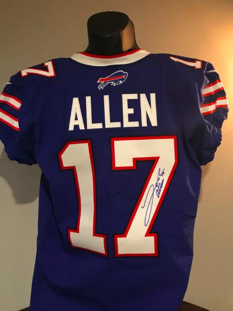 Charitybuzz: Josh Allen Signed Jersey - Lot 2031400