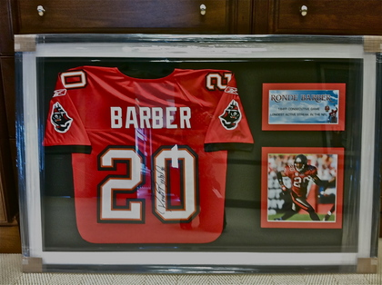 official photos 58f9f 2e421 Charitybuzz: Collect a Framed and Autographed Ronde Barber ...