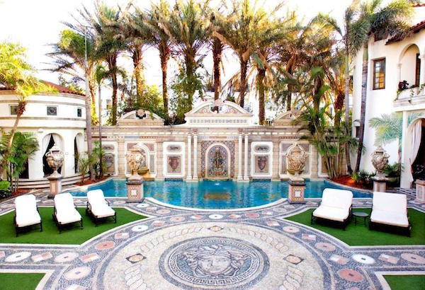 Charitybuzz 3 Night Stay At The Historic Versace Mansion In Miami Lot 2131415