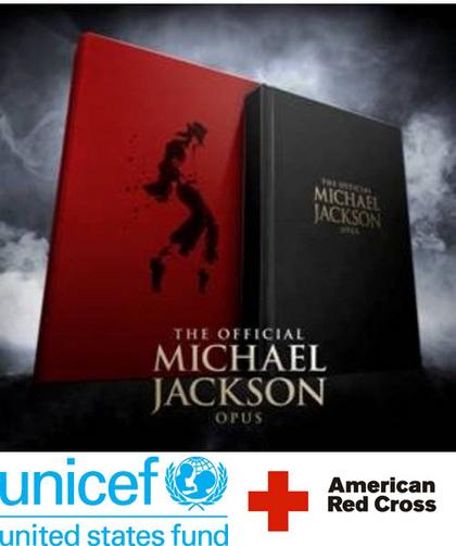 El Fondo de apoyo de EE.UU para la UNICEF y la Cruz Roja Americana subastan The Official Michael Jackson Opus, ayuda a Haití
