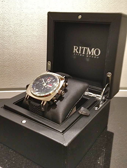Indycar Quartz Chronograph // Indycar Red - Ritmo Mundo ...
