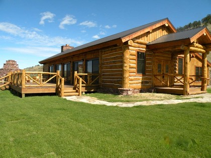 Charitybuzz 4 Night 5 Day Getaway To A Luxury Log Home