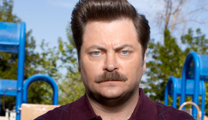 nick offerman young
