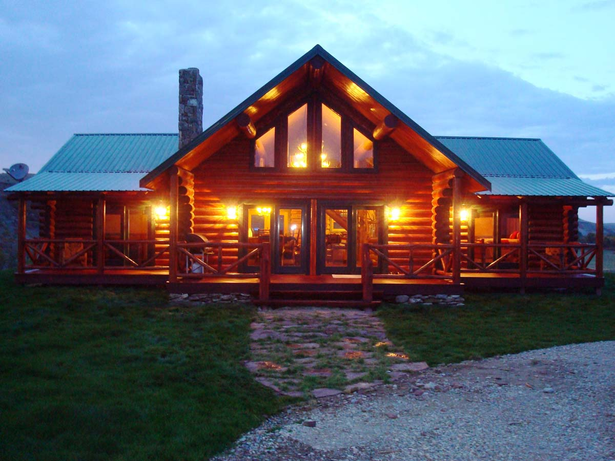 Charitybuzz 7 Night Getaway To A Luxury Log Home At The