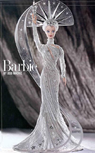 Charitybuzz Limited Edition Bob Mackie Lady Liberty Barbie Doll Lot