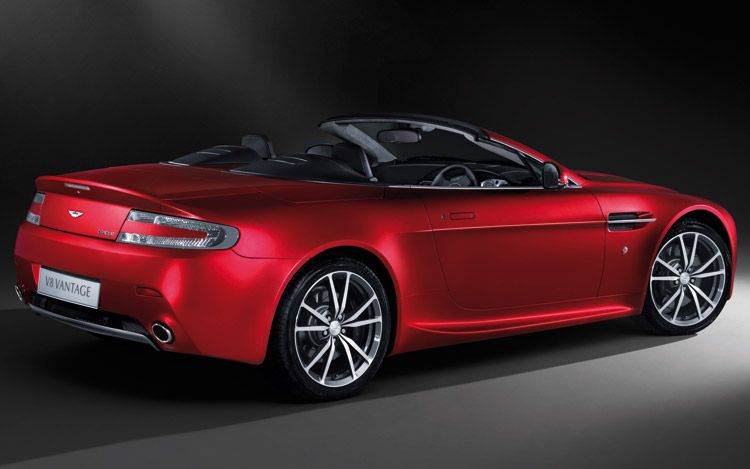 charitybuzz create your own 2010 aston martin vantage coupe lot 131055. Black Bedroom Furniture Sets. Home Design Ideas