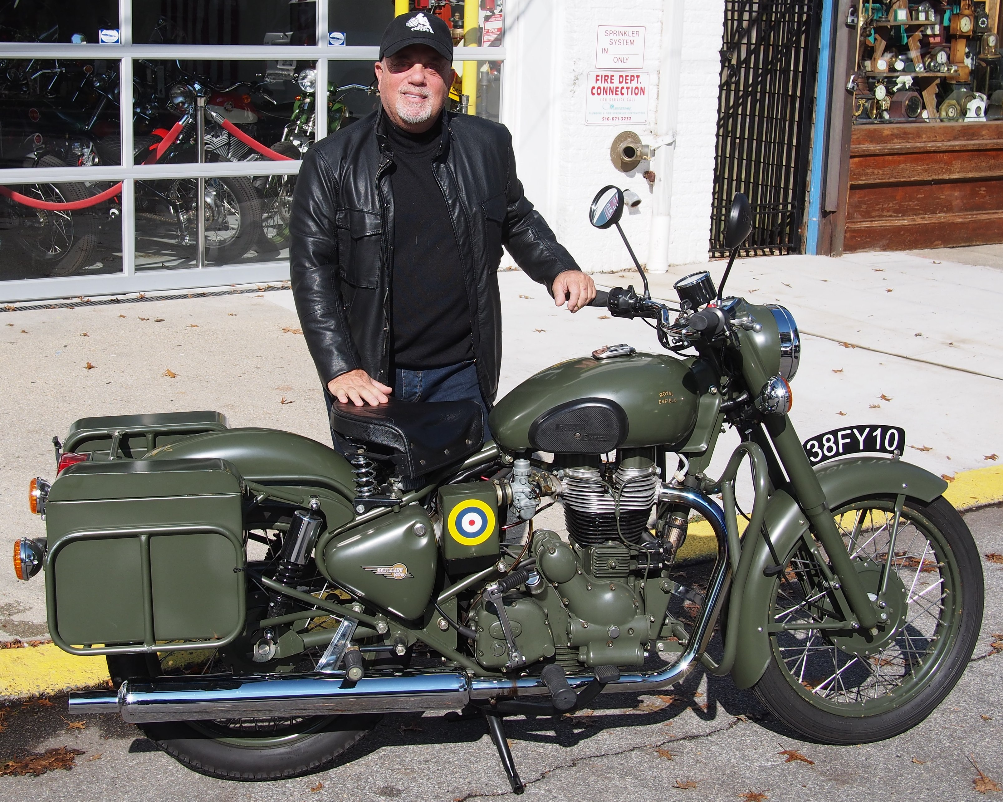 Charitybuzz Drive Off In This Incredible Royal Enfield