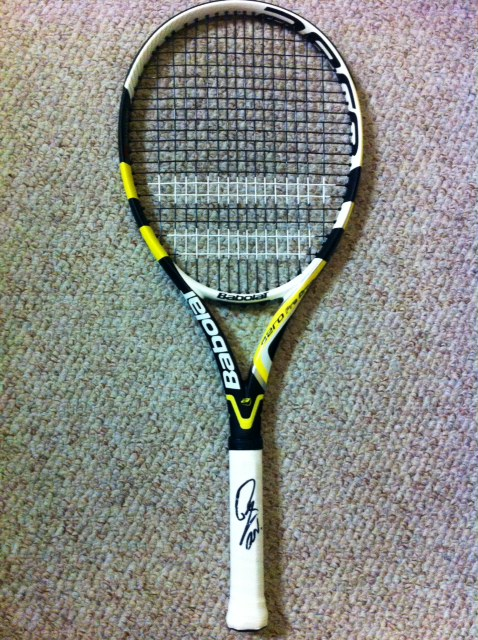 Charitybuzz: Signed Tennis Racquet from Rafael Nadal - Lot ...
