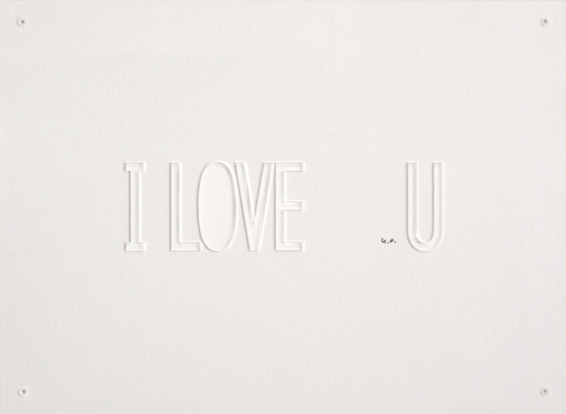 Charitybuzz Add Color I Love U By Yoko Ono Lot 2000103