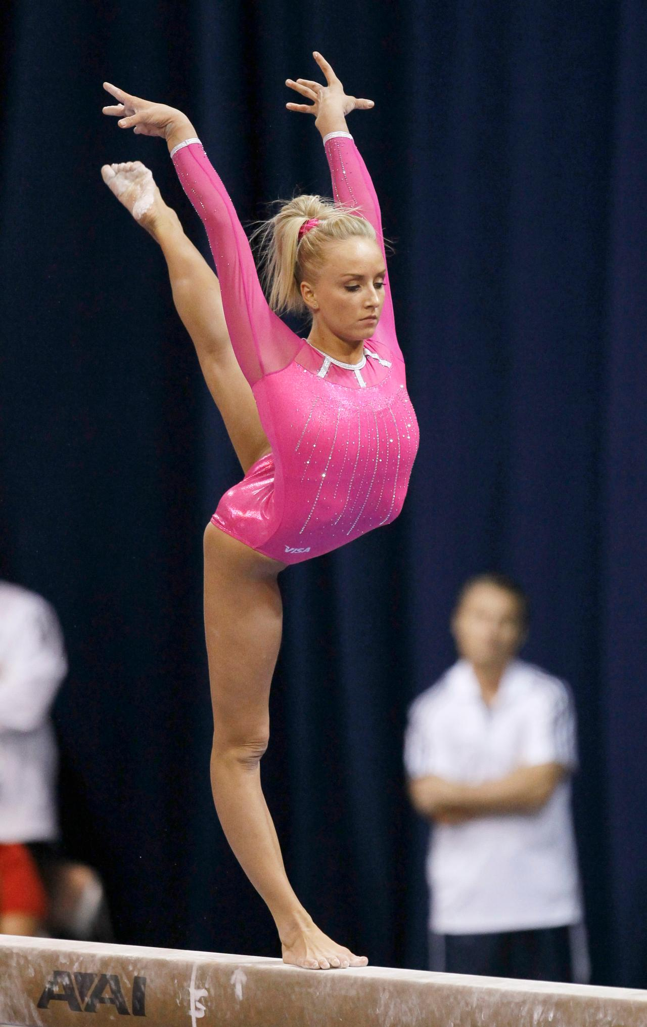 Nastia Liukin Junior 8 Balance Beam  DGS