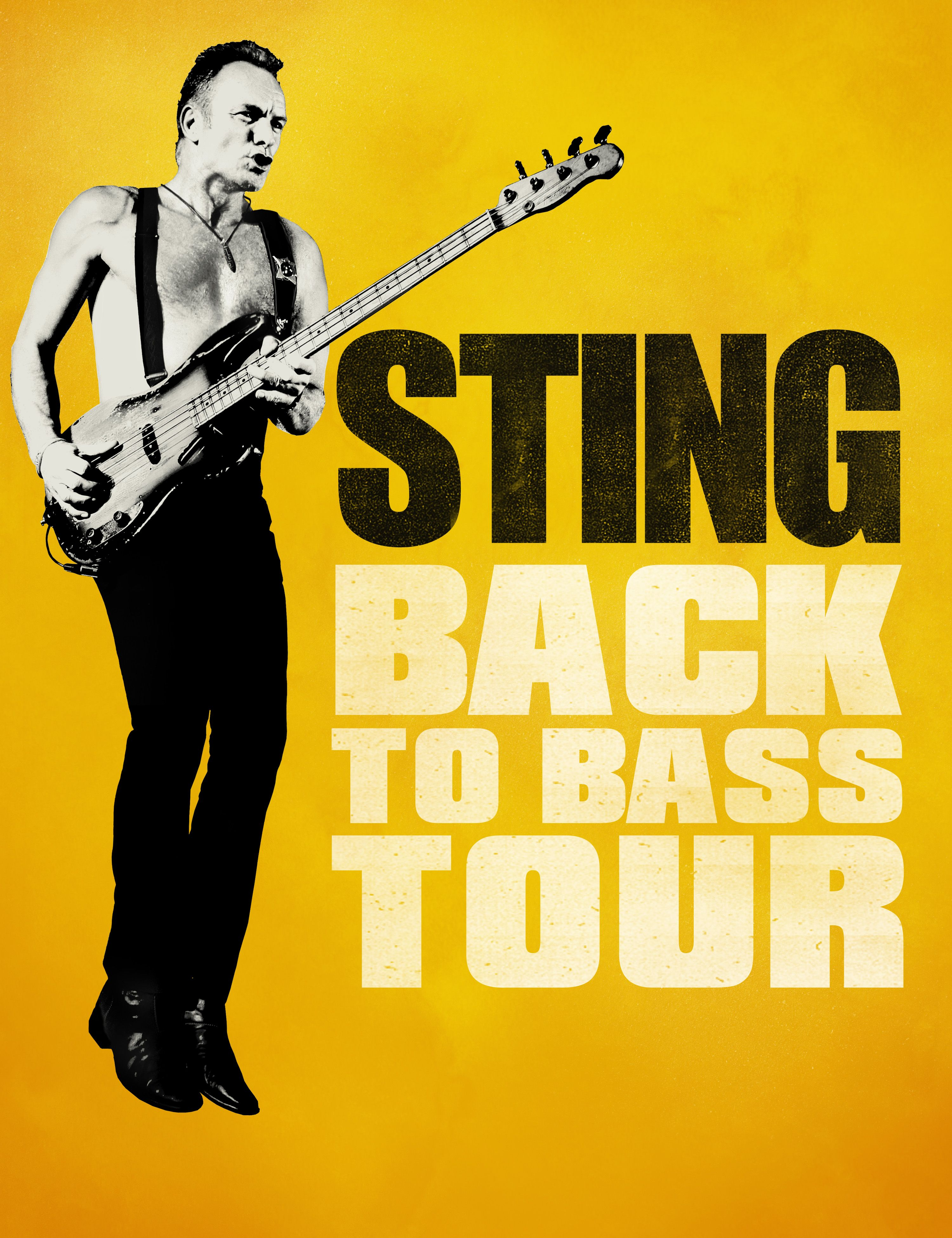Charitybuzz: Attend Sting's Back To Bass Concert On July 8 and Spend 2... - Lot 3374117