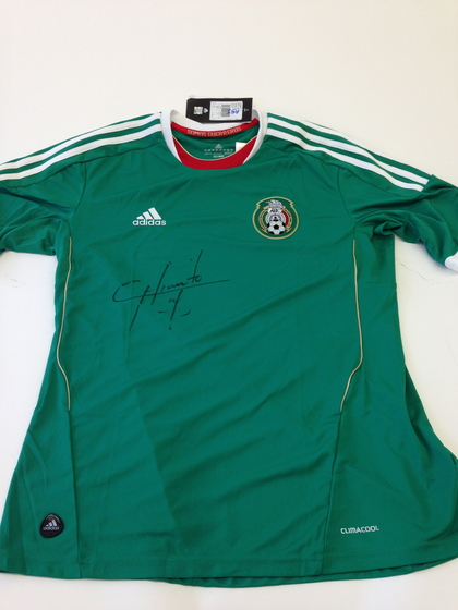 9bc685da2 Charitybuzz  Collect This Mexico National Football Team Jersey ...