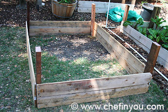 D.I.Y Raised Garden Beds | Easy step by step tutorial to make raised Garden Beds