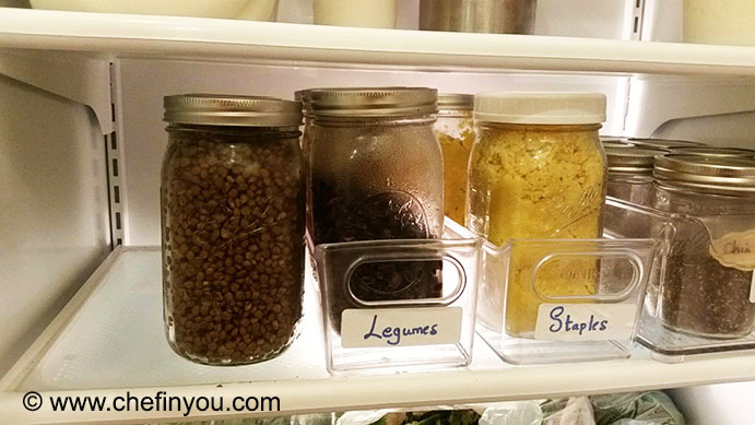 Preparing Weekly Menu | How to store Lentils and Legumes in fridge/Freezer