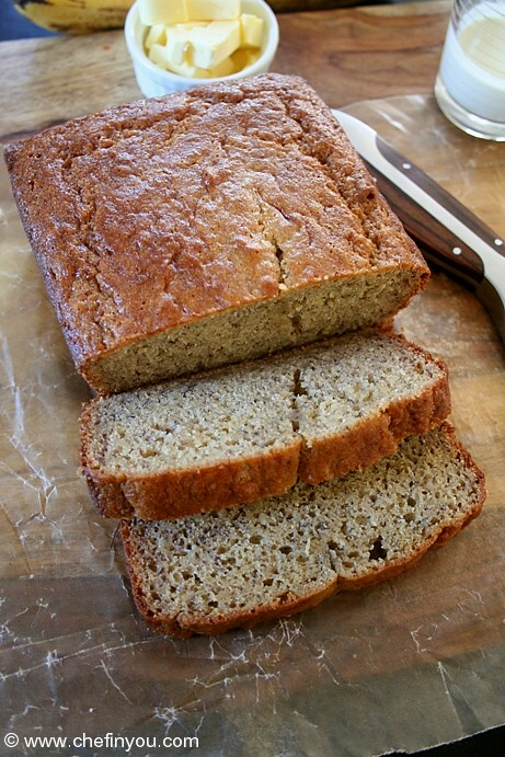 Breakfast Bread Recipe | Classic Banana Nut Bread