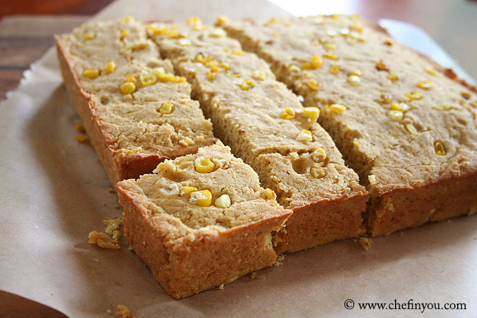 Double Corn Cornbread Recipe | Kefir Cornbread Recipe