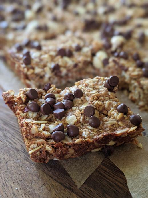 Homemade Granola Bars Recipe | Chewy DIY Chocolate Granola Bars Recipe
