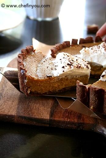 How to make Sugar Pie Pumpkin Puree | Easy Chocolate Pie Crust Recipe