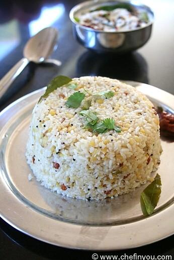 Arisi Upma Recipe | Rice Rava Upma | South Indian Recipes ...