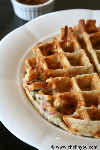Dosa waffles recipe vegetable waffles indian breakfasts chef kids recipes indian waffles recipes easy breakfast recipes forumfinder Choice Image
