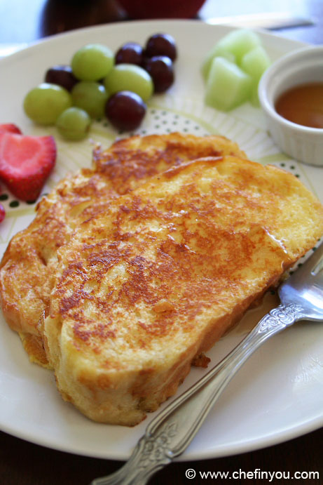 Fluffy French Toast Recipe | Brioche French Toast Recipe | French toast supposed to be soggy or crisp?