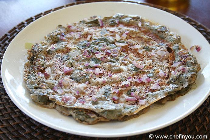 Murungai Keerai Dosai Recipe | Karuppu Ulundhu Dosa | Drumstick Leaves Dosa Recipe