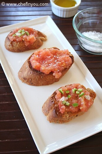 Pan Con Tomate | Easy Finger Foods | Recipes And Ideas For Your Party