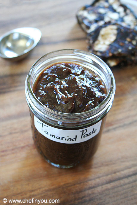 Homemade Tamarind Paste Recipe | How to make Tamarind Paste Recipe