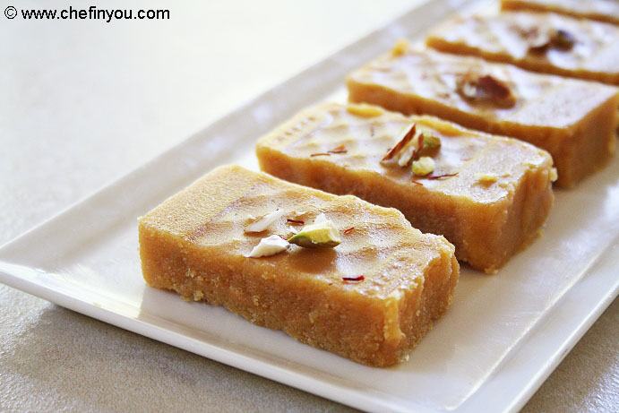 Krishna Sweets styled Mysore Pak Recipe | Soft Mysore Pa Recipe