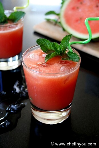 Watermelon Breeze Recipe | Watermelon Drink with Coconut Water | Watermelon Recipes