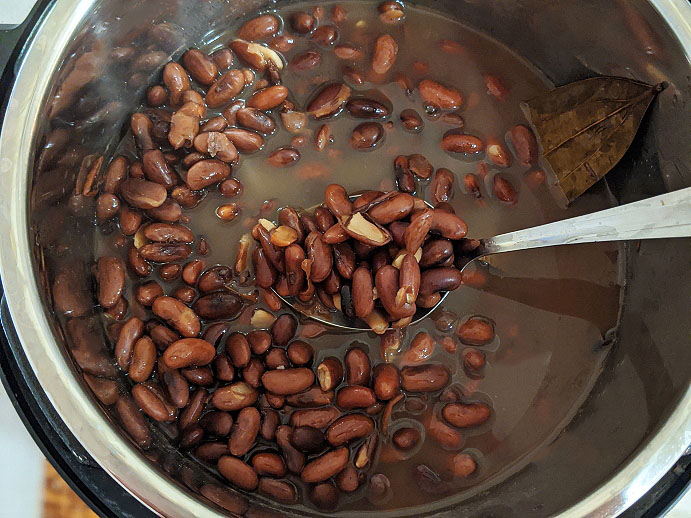 How to Use cooked bean water