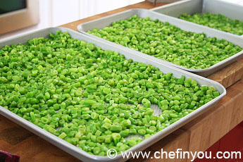 Freezing Green Beans For Storage | Freezing Green Beans After Blanching