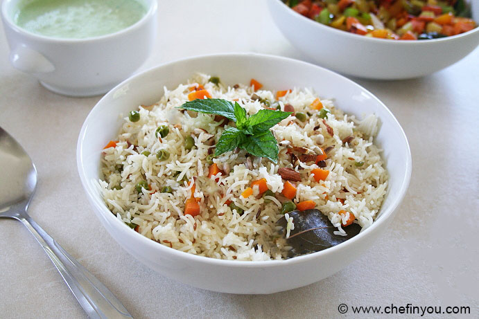 Carrot Peas Pulao Recipe | Easy OPOS recipes | Pressure Cooker Recipes