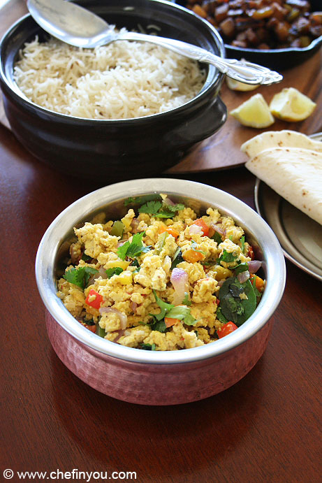 Paneer bhurji with eggs Recipe | Paneer Egg Bhurji Recipe