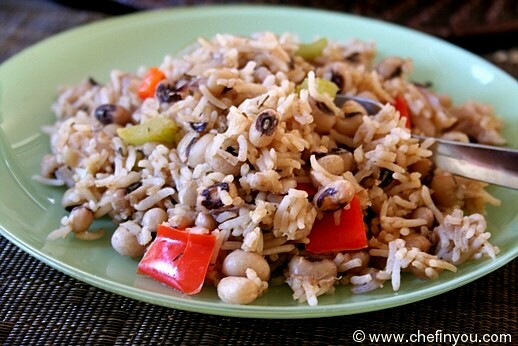Hoppin' John (American Black Eyed Peas and Rice)