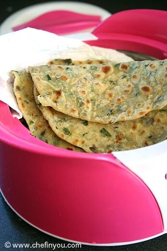 Fenugreek leaves recipes | Methi Paratha recipe