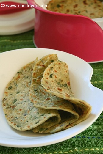 Fenugreek leaves recipes | Methi Paratha recipe