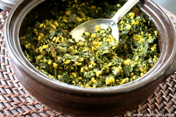 Drumstick or Moringa Leaves Curry