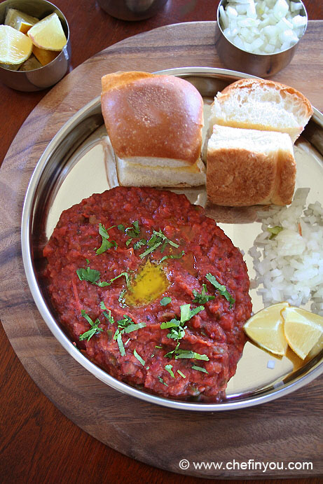 Quick Pav Bhaji Recipe | Vegetable Pav Bhaji Recipe | Indian Recipes