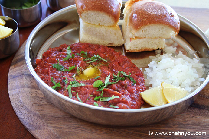 Opos pav bhaji recipe 6 min pao bhaji recipe chef in you quick pav bhaji recipe vegetable pav bhaji recipe indian recipes street foods forumfinder Image collections
