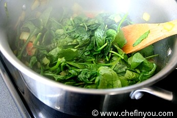 Spinach and Cheese Recipe    Paneer Recipes   Spinach (Palak) Recipes