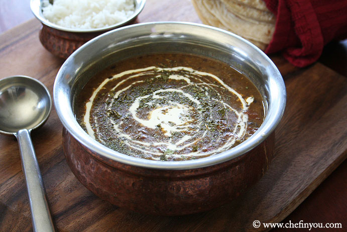 Slow Cooker Dal Makhani Recipe | Easy Dal Makhani in a Slow Cooker | Slow Cooker Indian Recipes Vegetarian