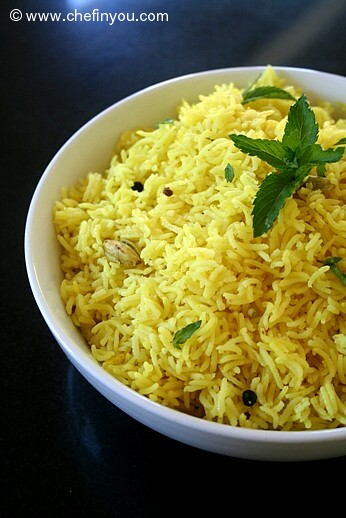 Yellow Rice Recipe |  Turmeric and Rice Recipe |  Easy Rice Recipes | Peppercorn recipes