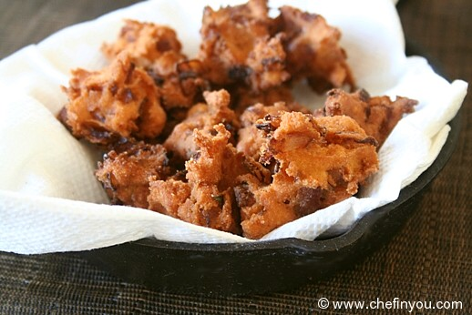 Onion Pakoda (South Indian style Pakoras)