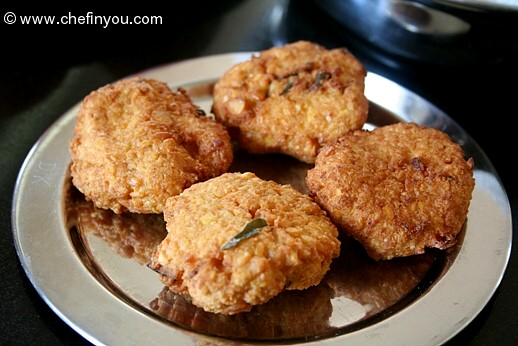 Paruppu Vadai | Karthigai Vadai Recipe | Indian Festival Recipes