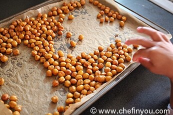 Spicy Roasted Chickpeas Recipe   Indian Chickpeas Recipes