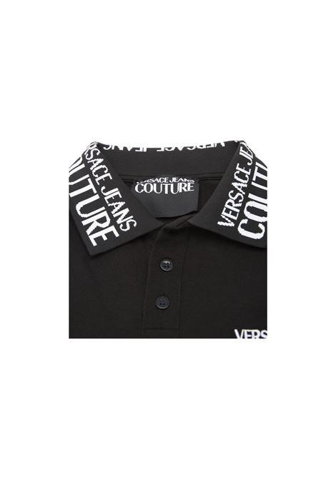 POLO CON LOGO Versace | 2 | B3GZB7T1ZUM621NERO