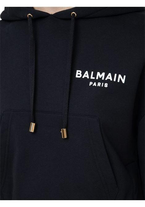 Felpa con logo BALMAIN | -108764232 | VF13792B015EAB