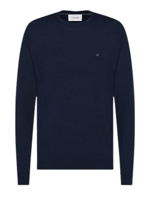 Maglione in lana superior CALVIN KLEIN | 7 | K10K102727NAVY
