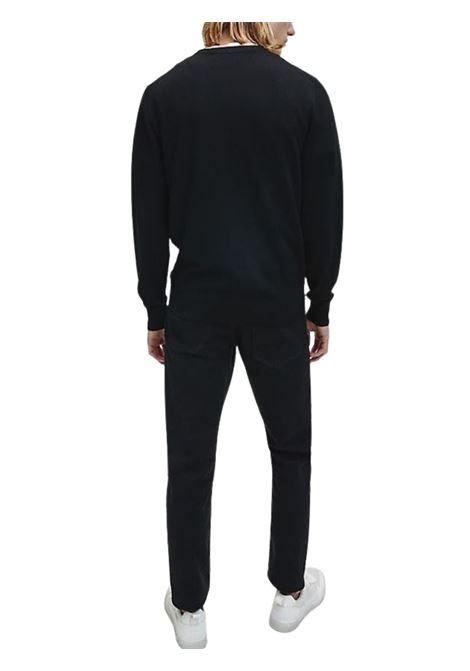 Maglione in lana superior CALVIN KLEIN | 7 | K10K102727NERO